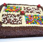 Torta Chocolate Colorido